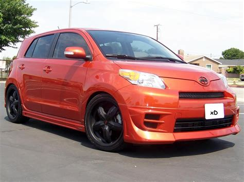 2008 scion xd tire size official scion xd w aftermarket wheels tires picture