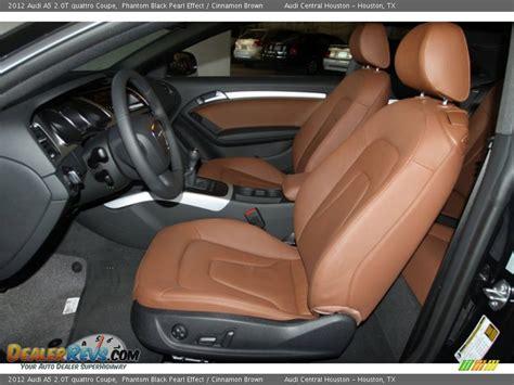 2012 Audi A5 Interior by Cinnamon Brown Interior 2012 Audi A5 2 0t Quattro Coupe Photo 10 Dealerrevs