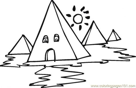 coloring pages pyramids egypt egyptian pyramids coloring page free egypt coloring