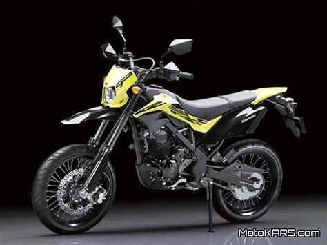 kawasaki d tracker 150 2015 baru til solid dengan velg 17 inchi motokars