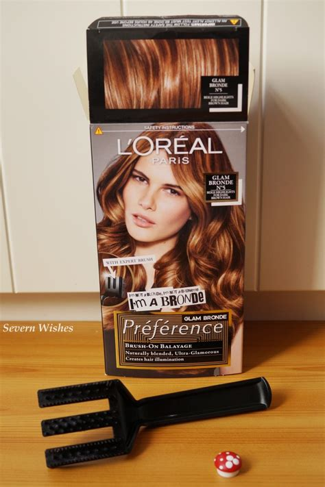 did l oreal completely change l or 233 al pr 233 f 233 rence glam bronde no5 review severn wishes