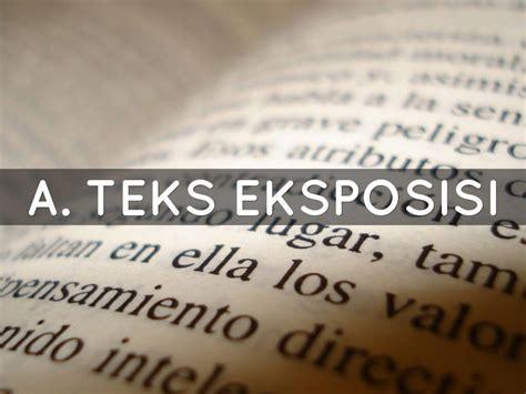 tesis teks eksposisi adalah pengertian jenis ciri ciri struktur dan contoh teks
