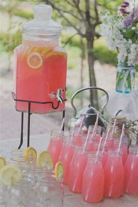 pink punch recipe for wedding shower bridal shower punch