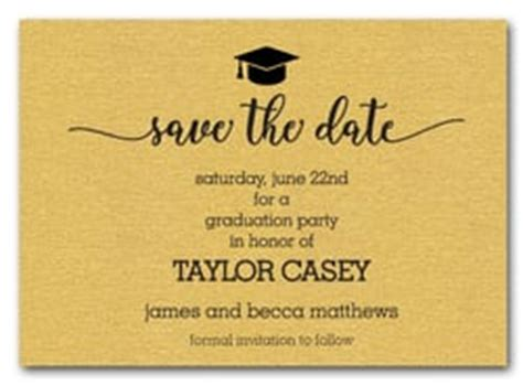 Save The Date Graduation Cards Templates graduation invitations who do you invite when do