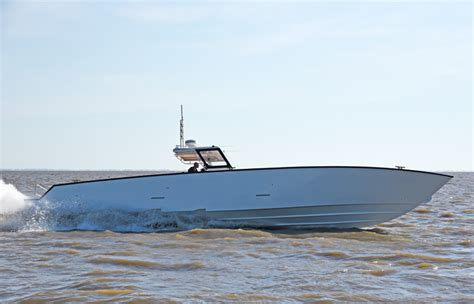 high performance diesel boats 52 fearless metal shark