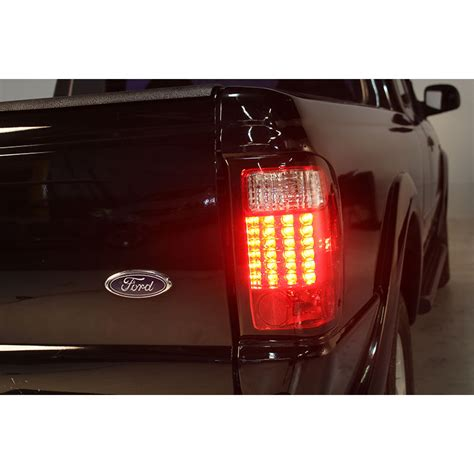 ford ranger tail lights 01 05 ford ranger pickup led altezza tail lights red