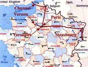 Giverny France Map by The 37 Trains We Rode