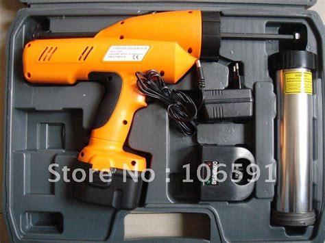 Silicone Gun Tebal Soligen electric cordless protable glass caulking silicone gun in caulking gun from home improvement on