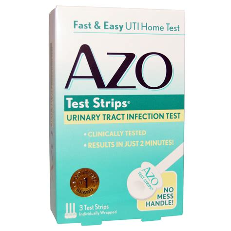 azo urinary tract infection test strips 3 test strips