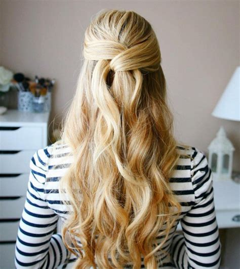 Half Do Hairstyles by Copy This Chic Wrapped Half Updo For 2016