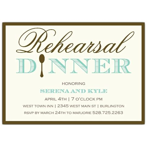 dinner invitation wording simple elegance rehearsal dinner invitations paperstyle