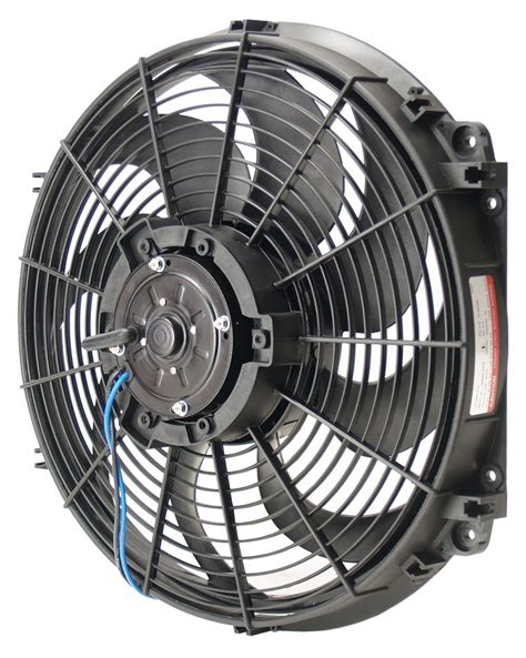 chion radiator electric fan derale 16 quot tornado electric fan 2 175 cfm derale