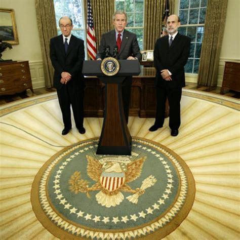 president bush names ben bernanke to become the new