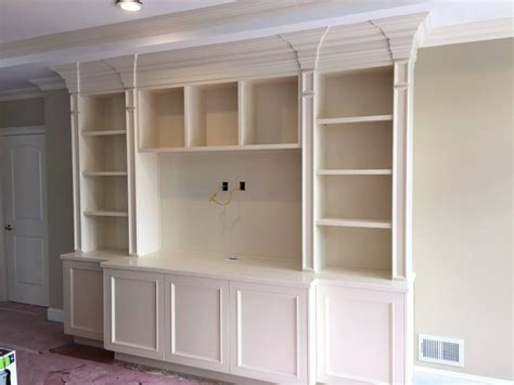 built in wall unit with desk and tv home office wall desk built in and cabinets office