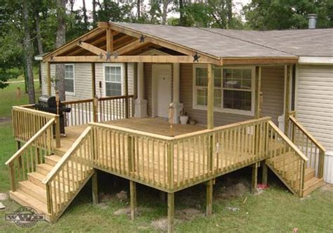 mobile home porch plans decks