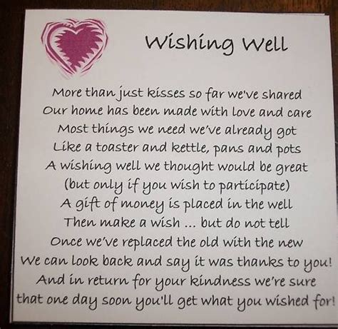 wishing well poems for bridal shower invitations 25 best ideas about wishing well poems on engagement poems wedding invitation