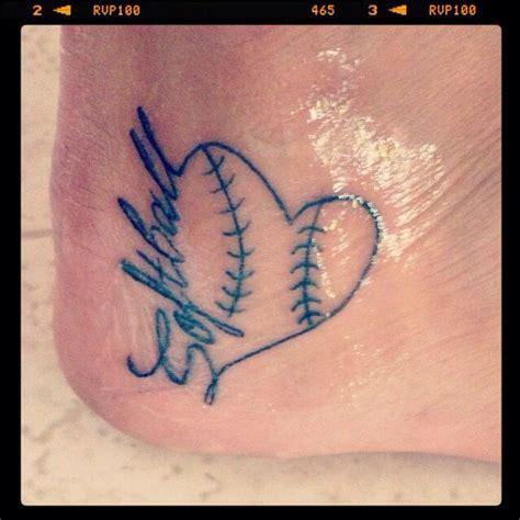 softball tattoos softball www pixshark images