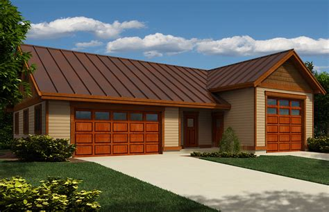 2 car garage with workshop 9830sw architectural rv garage with workshop and half bath 9831sw