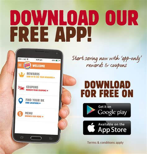 king app burger king 174 the official burger king app is here