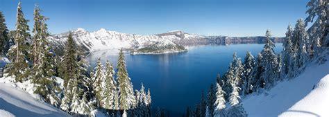 Nice Christmas Mountain Wi #8: Crater_Lake_winter_pano.jpg