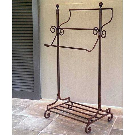 Wrought Iron Towel Rack by Road Freestanding Wrought Iron Towel Rack