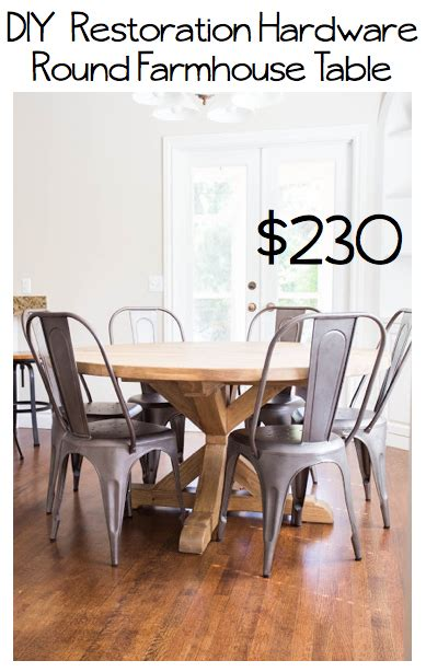 restoration hardware farmhouse table do it yourself divas diy restoration hardware table