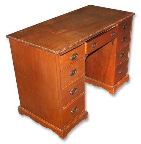 Vintage Wood Office Desk Vintage Wood Desk With Rope Detail Olde Things