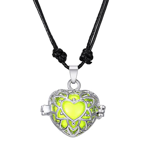 Handmade Locket - handmade openable locket pendant necklaces musical sound