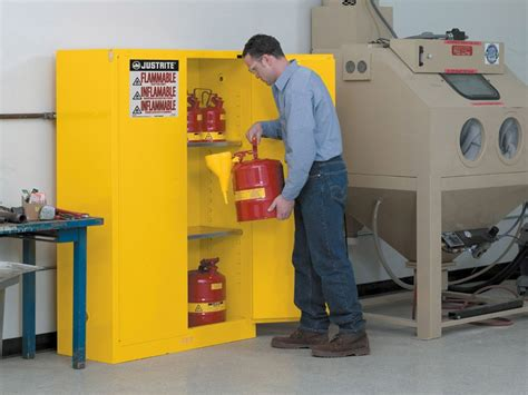flammable gas storage cabinets flammable storage cabinet self closing doors 45 gallons