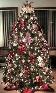teddy bear themed christmas tree