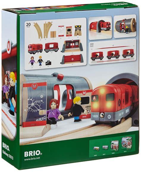 brio amazon brio world metro railway set