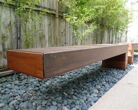 houzz benches floating bench http st houzz com simgs ffb15a1b0feca21a 15 8058 modern landscape jpg