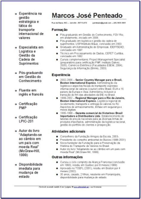 Modelo Curriculum Vitae Para Bancos Modelo De Curr 237 Culo Como Melhorar O Visual Do Seu Em Apenas 15 Minutos