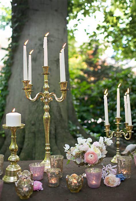 gold moretti candelabra