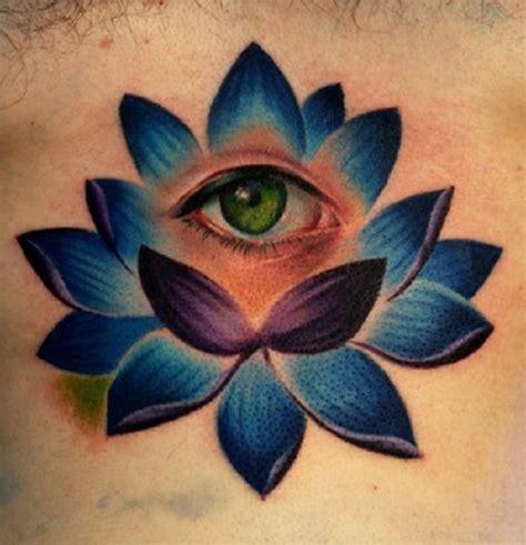 tattoo eye flower 39 awesome lotus tattoo designs