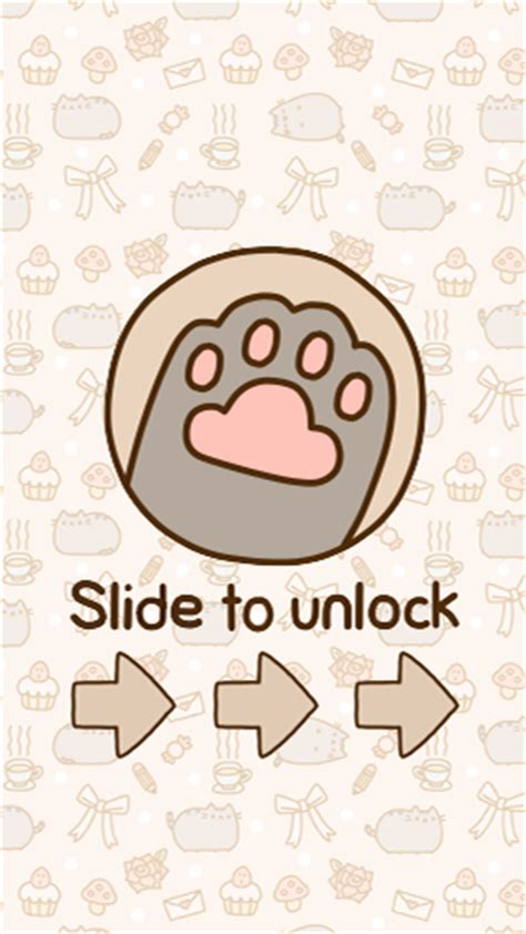 unlock wallpaper tumblr pusheen lockscreen iphone wallpaper by alessrepetto on