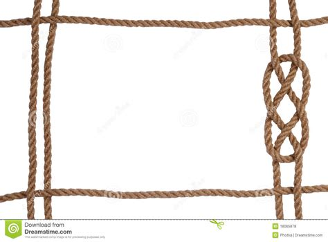 la rope rope frame stock photo image of isolated jute strong 18065878