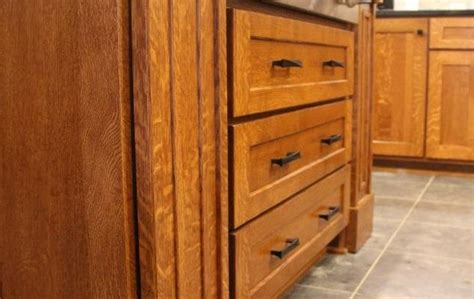 quarter sawn oak cabinets quarter sawn oak custom kitchen utica pa fairfield
