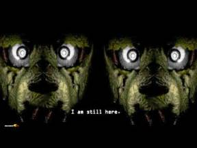 Five nights at freddy s 3 official teaser new character fnaf s 3 fan