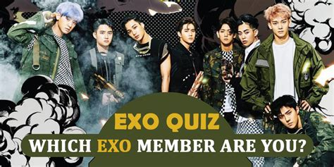 exo quizzes exo quiz 2018 which exo member are you