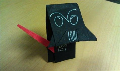 Origami Darth Paper - catch up on origami yoda s adventures in darth paper