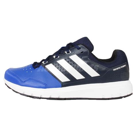 cross shoes for adidas duramo trainer navy blue white mens cross