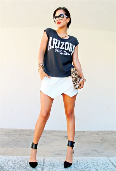 wearing comfort 20 amazing ways to wear the skorts for a care free style