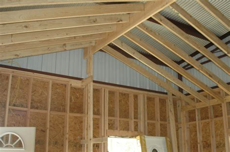 Vaulted Ceiling Construction Details by Christie Homestead 2011 And January 2012