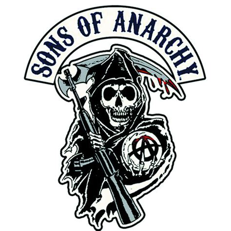 sep122022 sons of anarchy reaper logo patch previews world