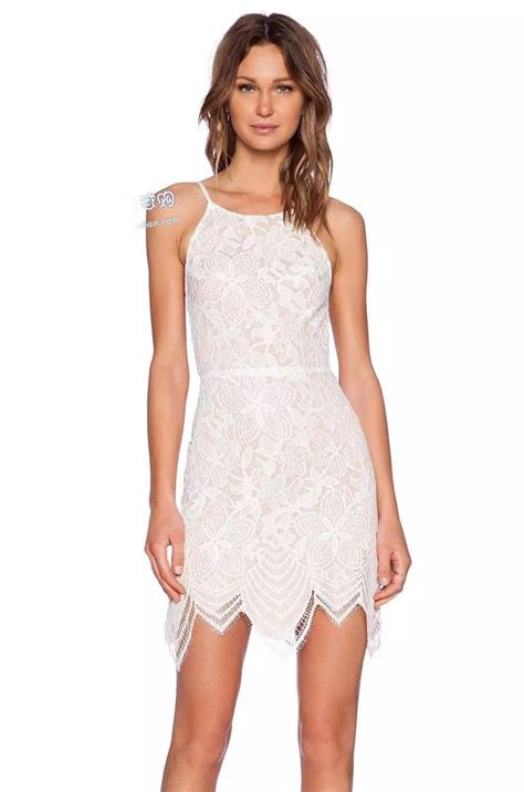 Halter Lace Dress W8255 Black white halter dress with lace dress ideas