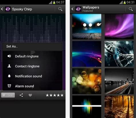 android themes download zedge zedge app for android free download find android appz