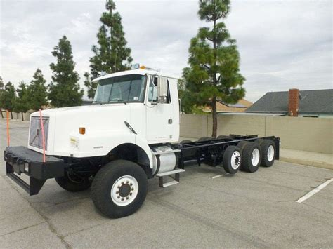 volvo heavy duty trucks for sale 1999 volvo wg64 heavy duty cab chassis truck for sale