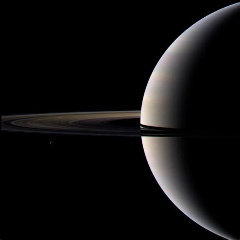 file looking cool and serene saturn shares its soft glow