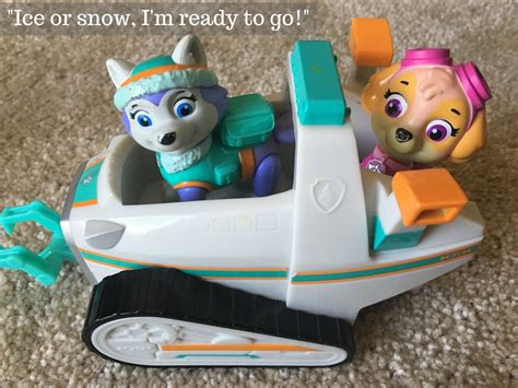 Paw Patro Cowboy Figures Set 6pcs paw patrol everest snowmobile quot or snow i m